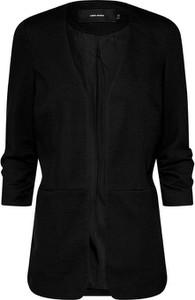 Czarna marynarka Vero Moda bez zapięcia
