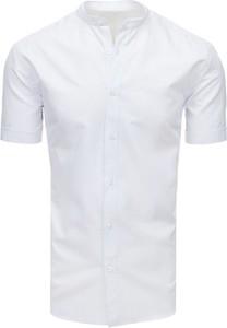 Koszula Dstreet ze stójką z bawełny