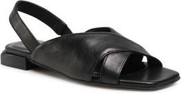 Czarne sandały Gino Rossi w stylu casual