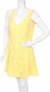 Żółta sukienka Frankie Morello mini