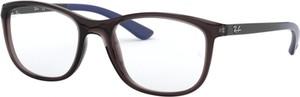 Okulary damskie Ray-Ban w stylu glamour