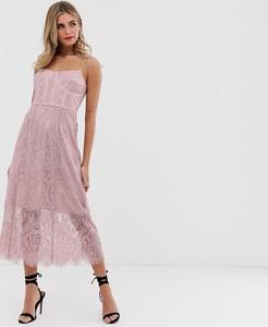 Sukienka Keepsake gorsetowa