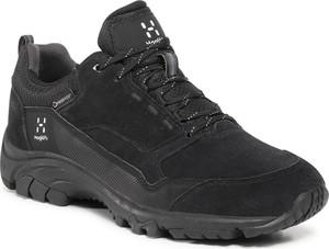 Czarne buty trekkingowe Haglöfs