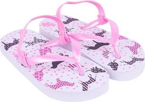 Buty dziecięce letnie Yoclub dla dziewczynek w kwiatki