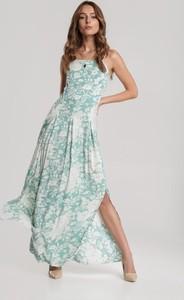 Sukienka Renee w stylu boho maxi z okrągłym dekoltem