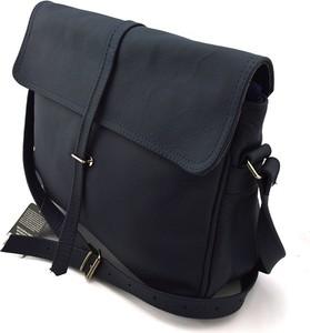 061624bac784e granatowa torebka skórzana. - stylowo i modnie z Allani