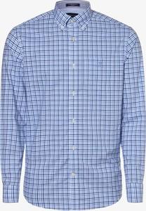 Niebieska koszula Gant