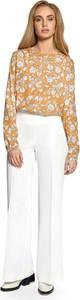 Bluzka Merg w stylu boho z długim rękawem