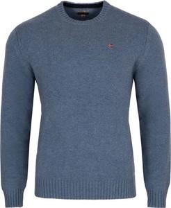 Sweter Napapijri z wełny