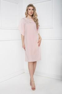 Sukienka Marcelini asymetryczna z tiulu