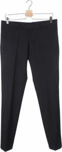 Granatowe spodnie David Naman