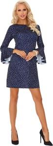 Sukienka MERRIBEL midi w stylu casual z długim rękawem