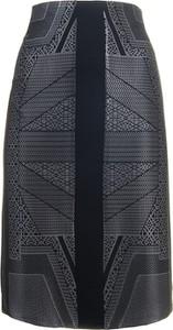 Granatowa spódnica Semper midi