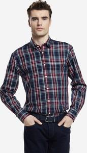 Koszula Wólczanka w stylu casual z tkaniny