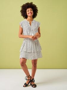 Sukienka Smashed Lemon z krótkim rękawem