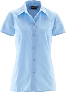 Koszula bonprix bpc selection z kołnierzykiem z krótkim rękawem