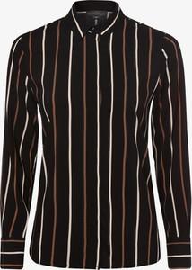 Czarna koszula Franco Callegari z długim rękawem w stylu casual