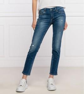 Niebieskie jeansy Liu-Jo w street stylu
