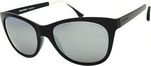Czarne okulary damskie Solano