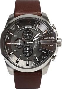 Zegarek DIESEL - Mega Chief DZ4290 Dark Brown/Silver