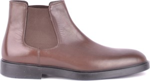 Brązowe buty zimowe Fratelli Rossetti