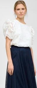 Niebieska spódnica ORSAY z tiulu midi