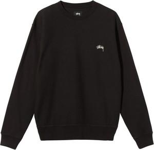 Czarna bluza Stussy w stylu casual