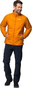 Pomarańczowa kurtka Jack Wolfskin