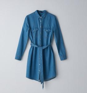 Sukienka Cropp mini z długim rękawem