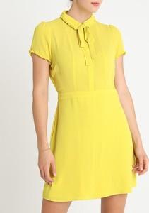 Sukienka Inna z krótkim rękawem mini w stylu casual
