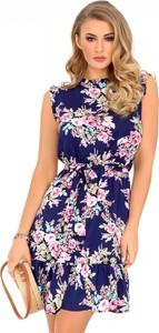 Sukienka MERRIBEL bez rękawów mini z tkaniny
