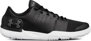 Buty sportowe Under Armour sznurowane ze skóry