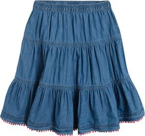 Niebieska spódniczka dziewczęca Cool Club z bawełny
