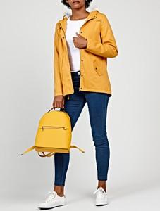 Żółta kurtka Gate z bawełny