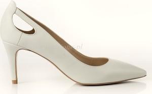 de2d8dbe ślubne buty na niskim obcasie - stylowo i modnie z Allani
