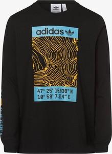 Czarny t-shirt Adidas Originals