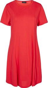 Sukienka Freequent z krótkim rękawem