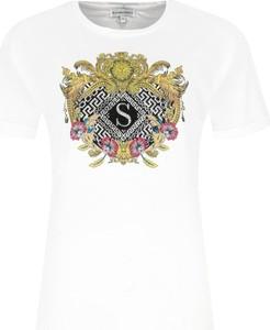 T-shirt Silvian Heach w młodzieżowym stylu