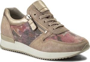 Buty sportowe gabor ze skóry ekologicznej w abstrakcyjne wzory