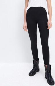 Czarne legginsy Mohito