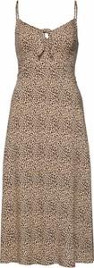 Sukienka Hollister Co. w stylu casual na ramiączkach midi
