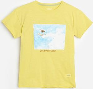 Żółta koszulka dziecięca Reserved dla chłopców