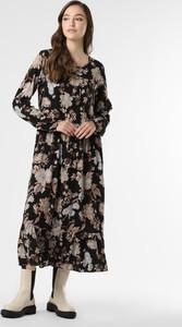 Sukienka Soyaconcept z dekoltem w kształcie litery v z długim rękawem