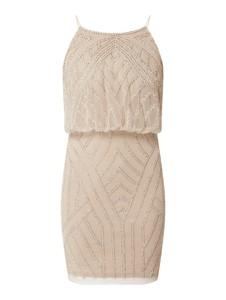 Sukienka Lace & Beads mini bez rękawów