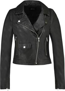 Czarna kurtka Ibana w rockowym stylu