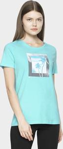 T-shirt 4F z dżerseju z krótkim rękawem