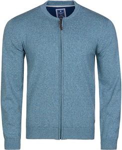 Sweter Redmond w stylu casual ze stójką