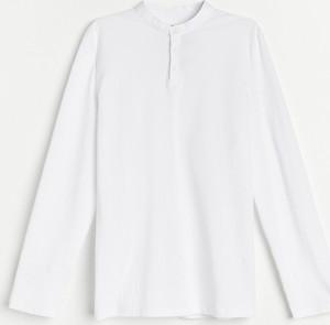 T-shirt Reserved z bawełny