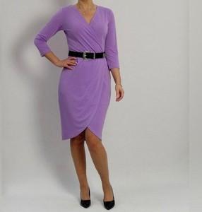 Sukienka Mm Fashion z dekoltem w kształcie litery v mini w stylu casual