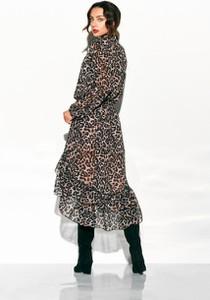 Sukienka Lemoniade w stylu casual asymetryczna maxi